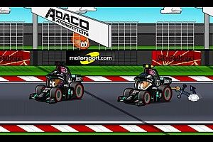 Vídeo: el resumen del GP de Eifel de F1, según los MiniDrivers