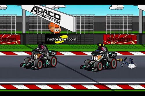 Vídeo: el GP de Eifel de F1 con el humor de los MiniDrivers