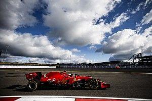 Intensa FP3 de la F1 en Nürburgring con Ferrari en el top 5