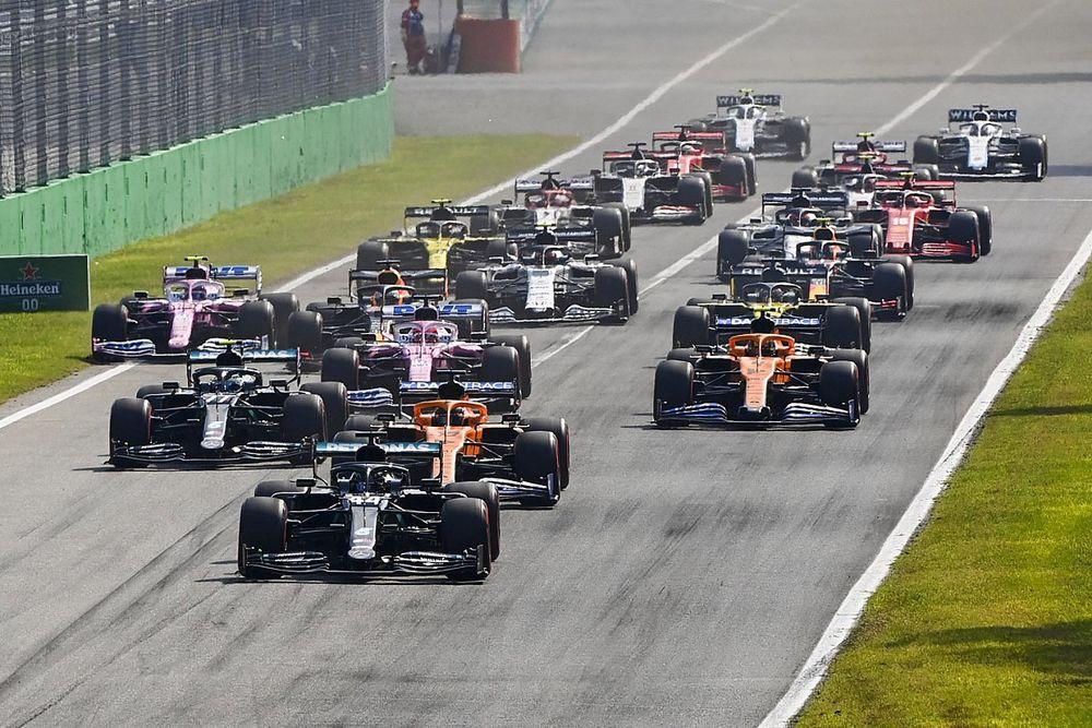Formule 1 tijdschema: Sprintrace tijdens de Grand Prix van Italië