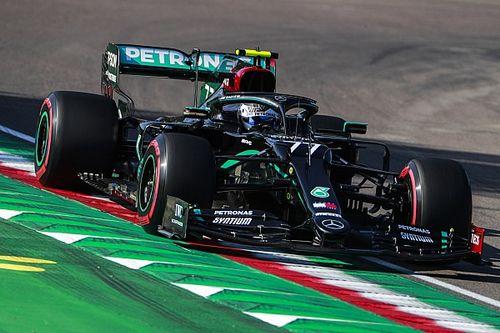F1エミリア・ロマーニャ予選:ボッタス逆転PP。フェルスタッペン3番手、ホンダPU全4台がQ3進出