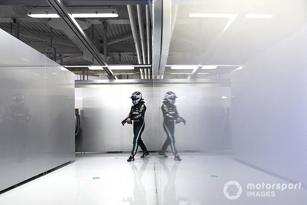 Bottas envía un recado a Red Bull en el GP de Italia de F1