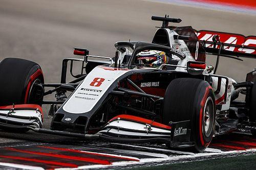 """Grosjean: """"Haas'ın tutarsız performansı 'kısmen' eski parçalarla ilgili"""""""