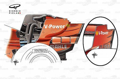 Las actualizaciones de Ferrari que fueron 'mejoras' a medias