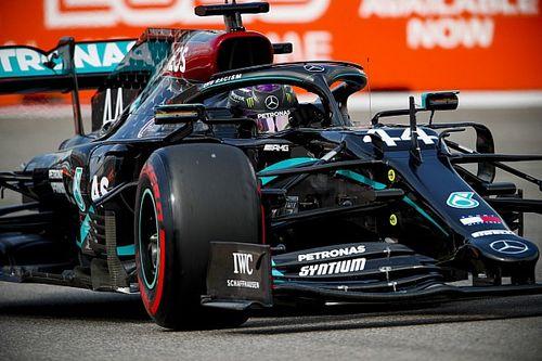 Mercedes a forcé Hamilton à utiliser les tendres en fin de Q2