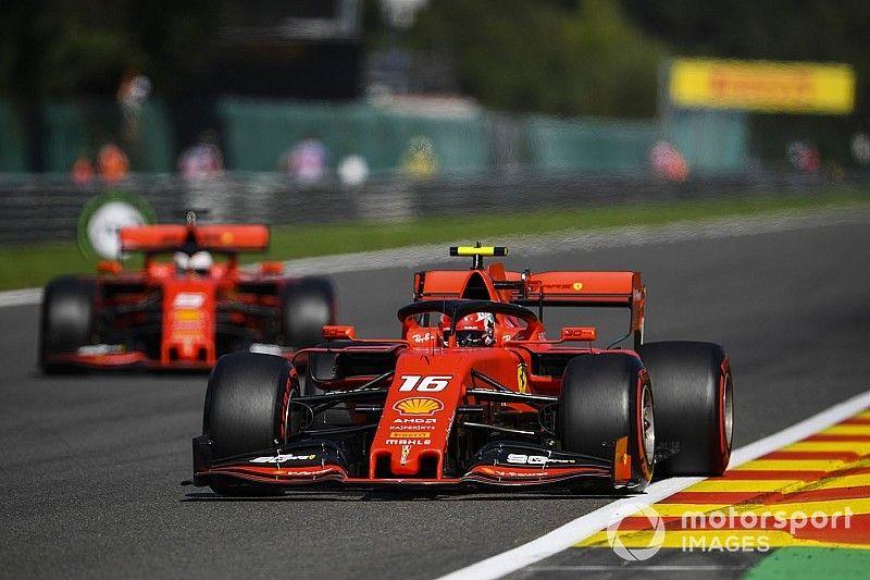Leclerc evitó el rebufo en la calificación