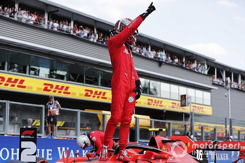 Leclerc aplasta a todos y logra en Spa su tercera pole en F1
