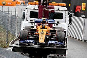 McLaren: individuato il guasto che ha fermato Norris in Germania