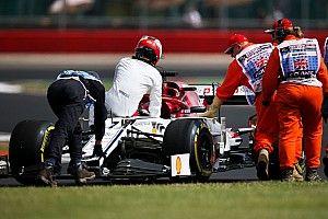 GALERI: Suasana dan aksi latihan GP Inggris