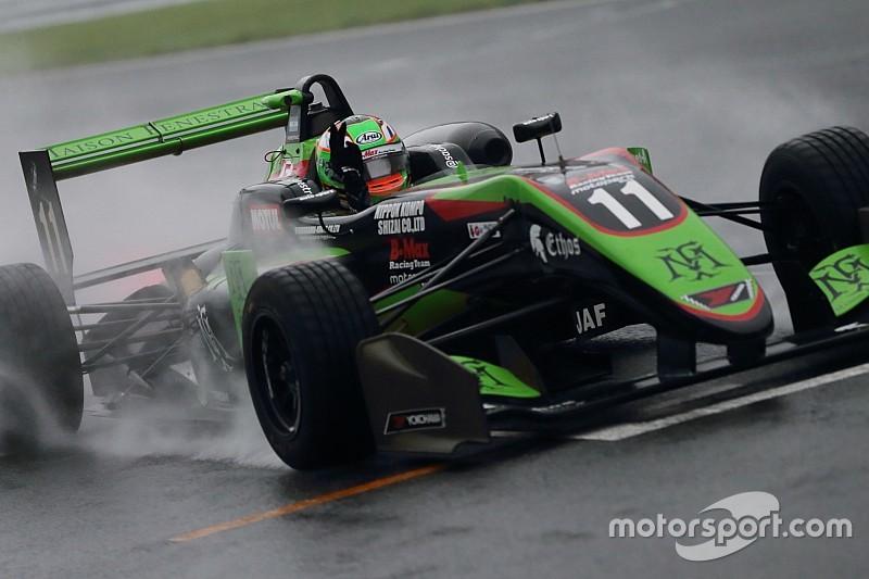 全日本F3第12戦|フェネストラズが雨の中で独走、今季6勝目を飾る