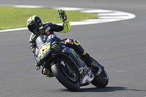 """Rossi deuxième après un """"super tour"""" qu'il a """"beaucoup apprécié"""""""