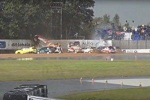 Дождевое безумие. Видео большого завала в Кубке Citroën DS3