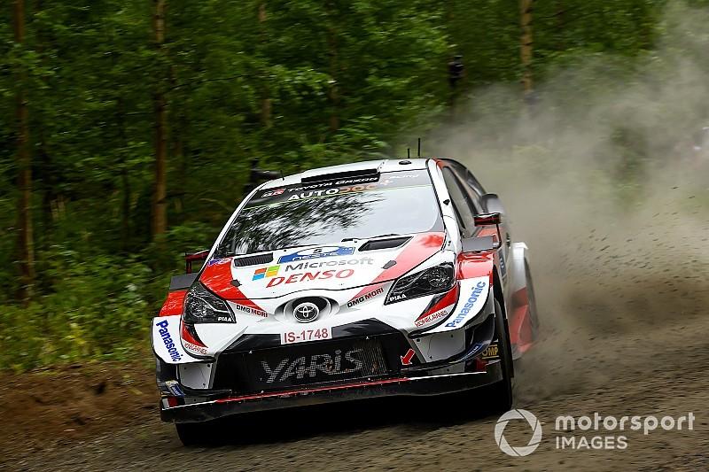 WRC, Rally Finlandia, PS3-4: ancora Toyota con Latvala e Meeke