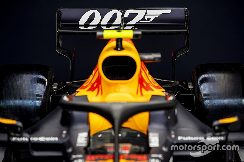 007: ¡Red Bull llevará una decoración a lo James Bond en Silverstone!