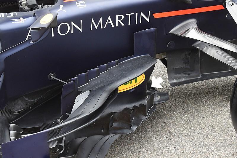 Red Bull: modificato il bargeboard della RB15