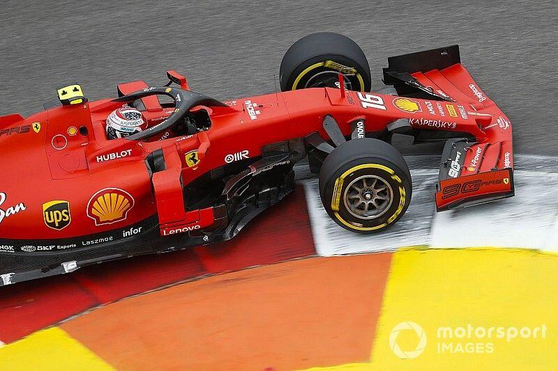 Russian GP: Leclerc leads Ferrari 1-2 in third practice