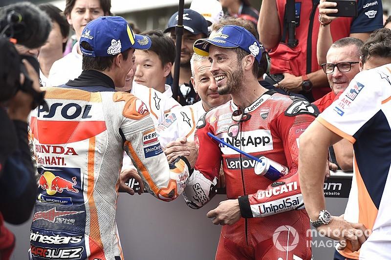 Dovizioso: Marqueznek fájhatott, hogy elvesztett egy ilyen csatát, de a címre fog gondolni