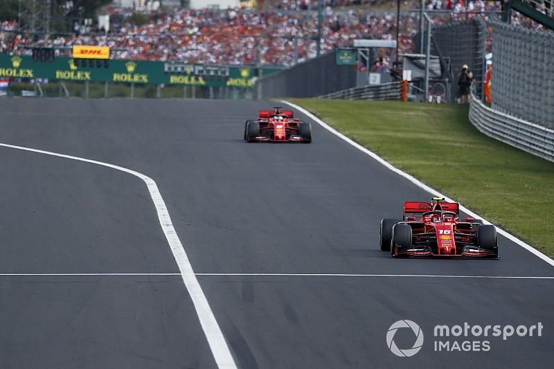 Vettel lepszy od Leclerca