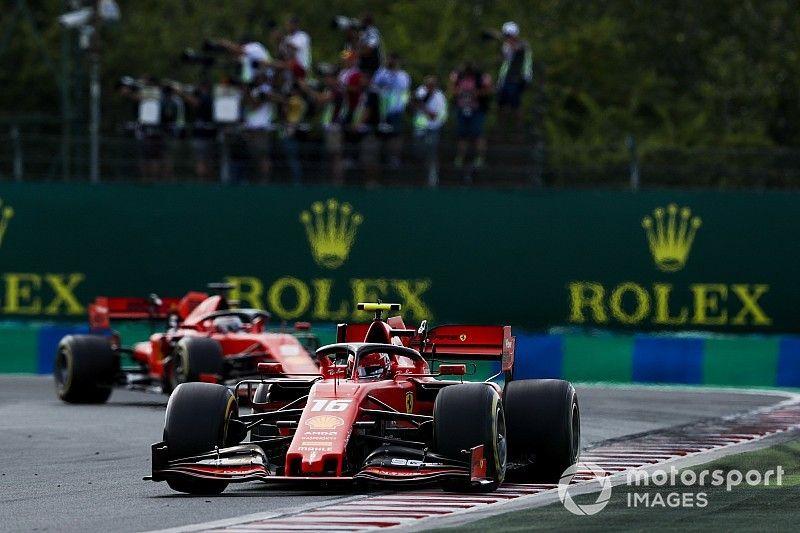 """Leclerc admits Vettel """"doing something better in long runs"""""""