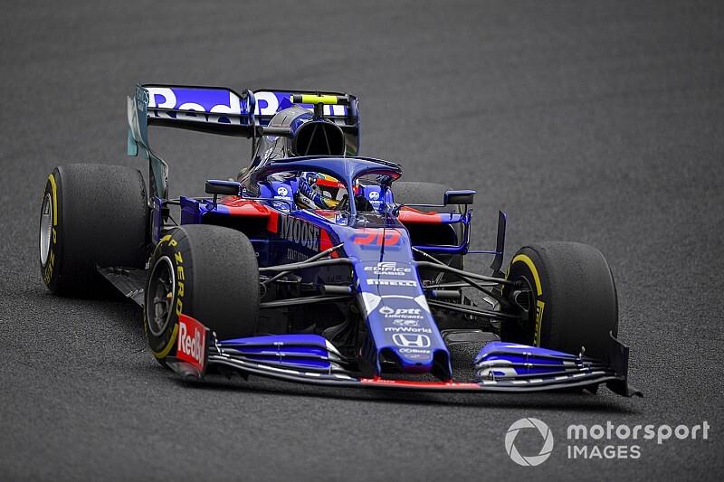 Yamamoto sorprende a los pilotos de Toro Rosso