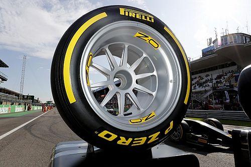 Harmonogram testów Pirelli