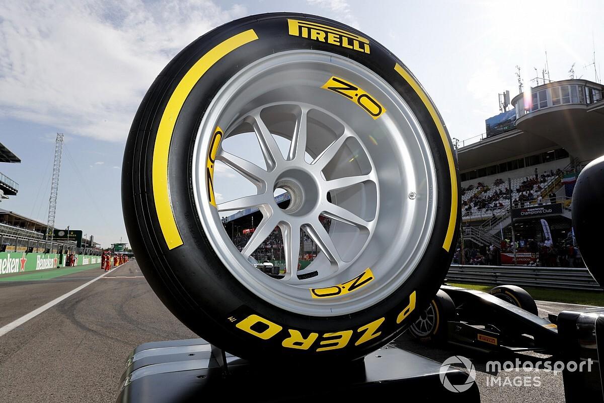 Com volta de Alesi, Pirelli apresenta pneu que será utilizado pela F1 em 2021