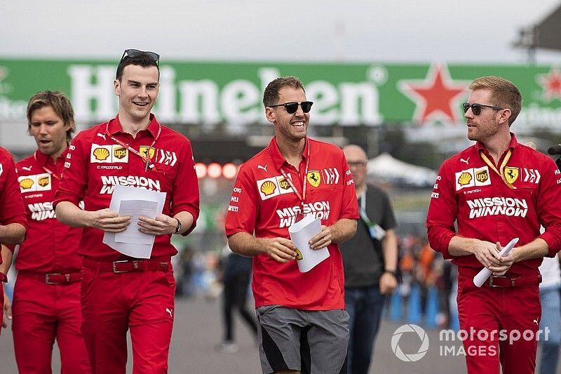 """Vettel: """"No estuvo bien desobedecer la orden en Sochi"""""""