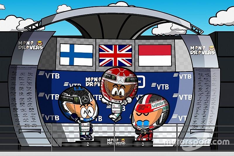 Vídeo: el GP de Rusia de F1, por MiniDrivers