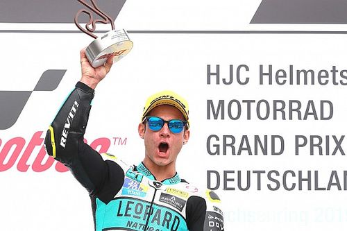 Sachsenring Moto3: Dalla Porta passes Canet for victory