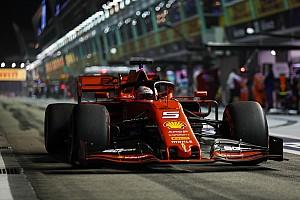 Ergebnis: Formel 1 Singapur 2019, 3. Freies Training