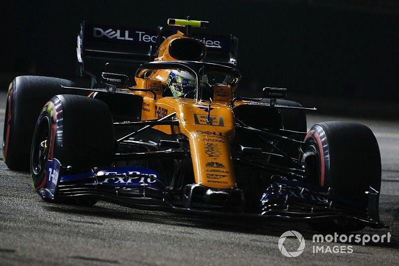 "Norris blames ""brain fade"" for ""awful"" Q3 lap"