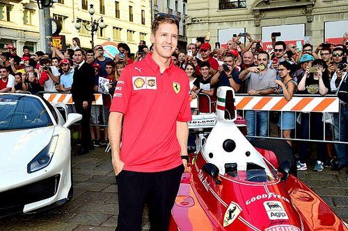 Ferrari murem za Vettelem