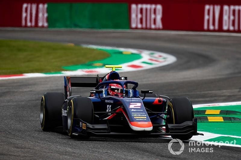 "F2モンツァレース1:松下信治、""完璧な""レースで今季2勝目を挙げる。佐藤は12位"