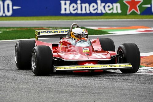 Fotos: Jody Scheckter se reencontró con su Ferrari campeón
