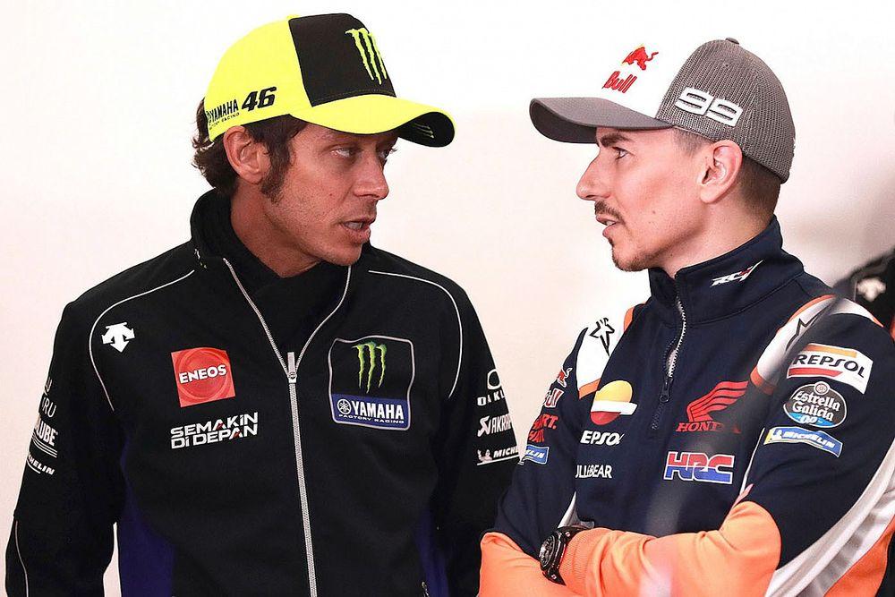 Росси: Это я уговорил Yamaha взять Лоренсо тест-пилотом