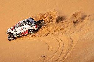 Galería: las mejores fotos del test de Alonso en Namibia