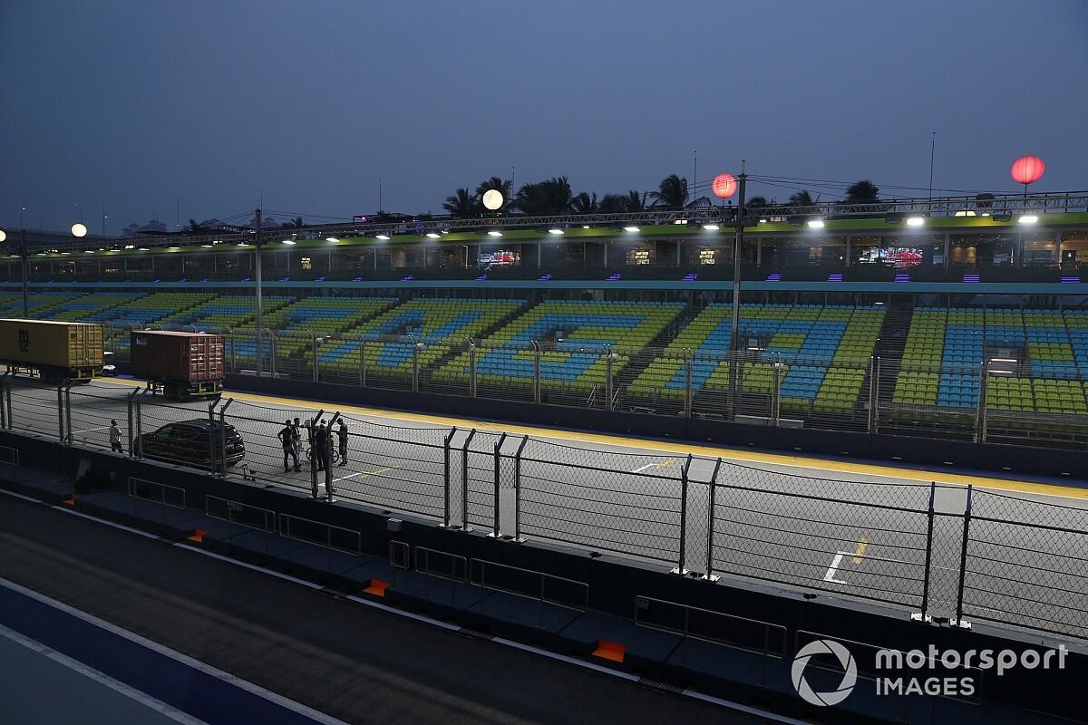 Singapur GP organizatörleri, yarışın iptal edilmesinin doğru karar olduğuna inanıyor