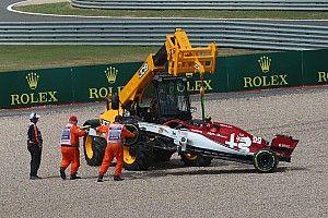 """Alfa Romeo, Vasseur insiste: """"Giovinazzi non è sotto pressione"""""""