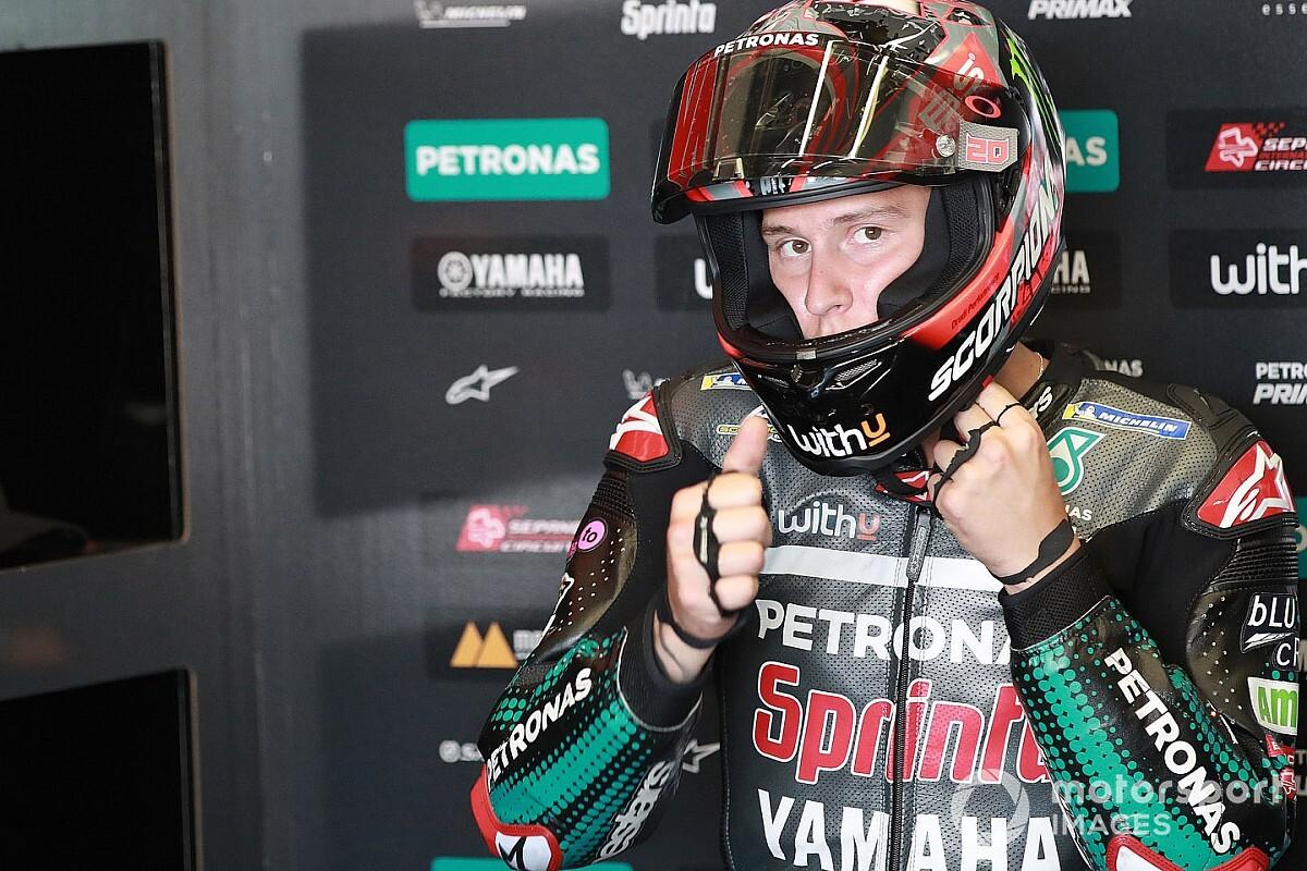 La sanction de Quartararo confirmée en appel à Jerez