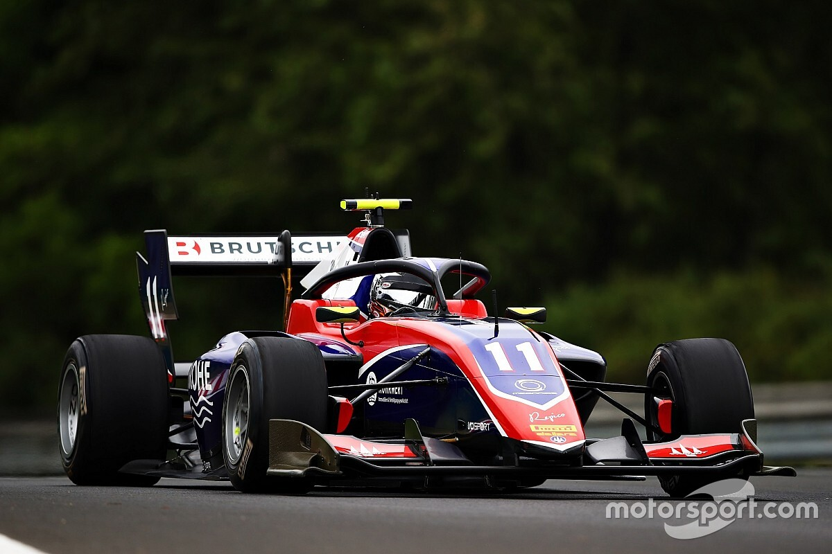 F3, Ungheria, Gara 2: Viscaal penalizzato, Beckmann ne approfitta