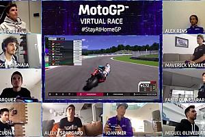 Алекс Маркес выиграл первую виртуальную гонку MotoGP