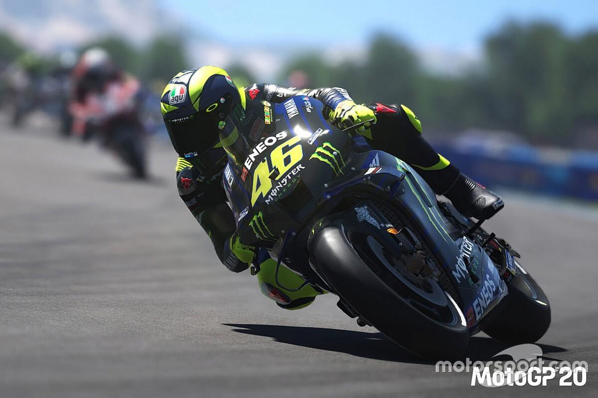 Смотрите на «Моторспорт.ТВ»: первый виртуальный Гран При MotoGP