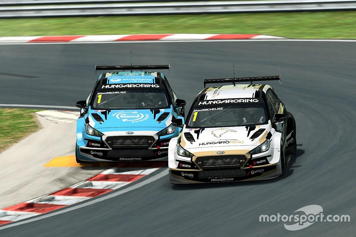 Nézd újra a Hungaroring E-Sport bajnokság első fordulóját Szujó és Michelisz kommentálásával