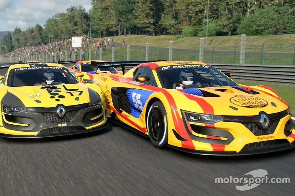 Sainz y el equipo español vencen a Ocon y Francia en 'GT Sport'