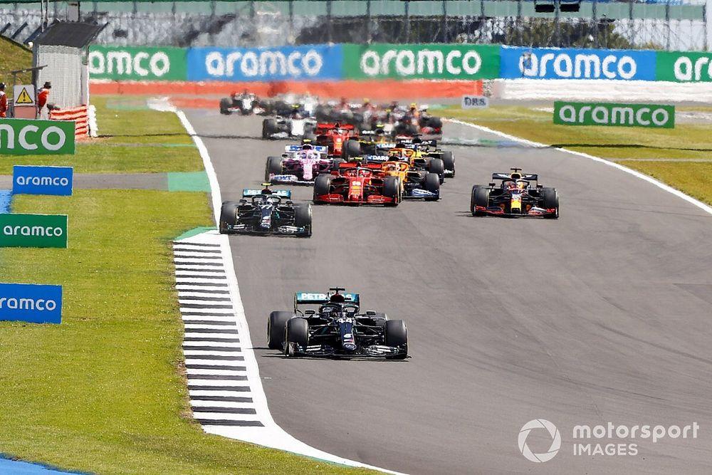 2020 F1 British Grand Prix race results