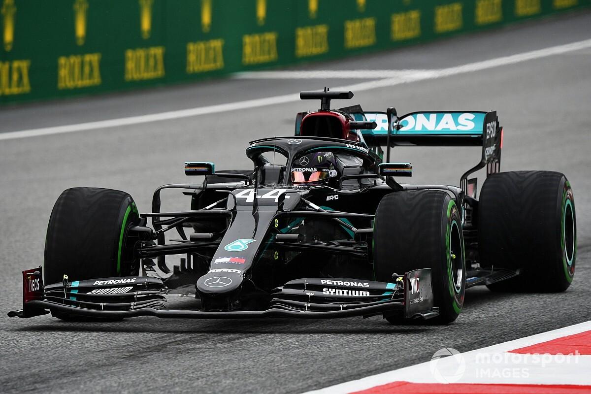 Mercedesy z przodu na Red Bull Ringu