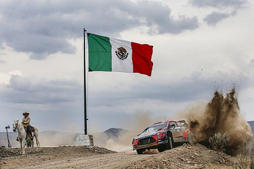 Meksika Rallisi'ndeki bir gazetecinin COVID-19 testi pozitif çıktı