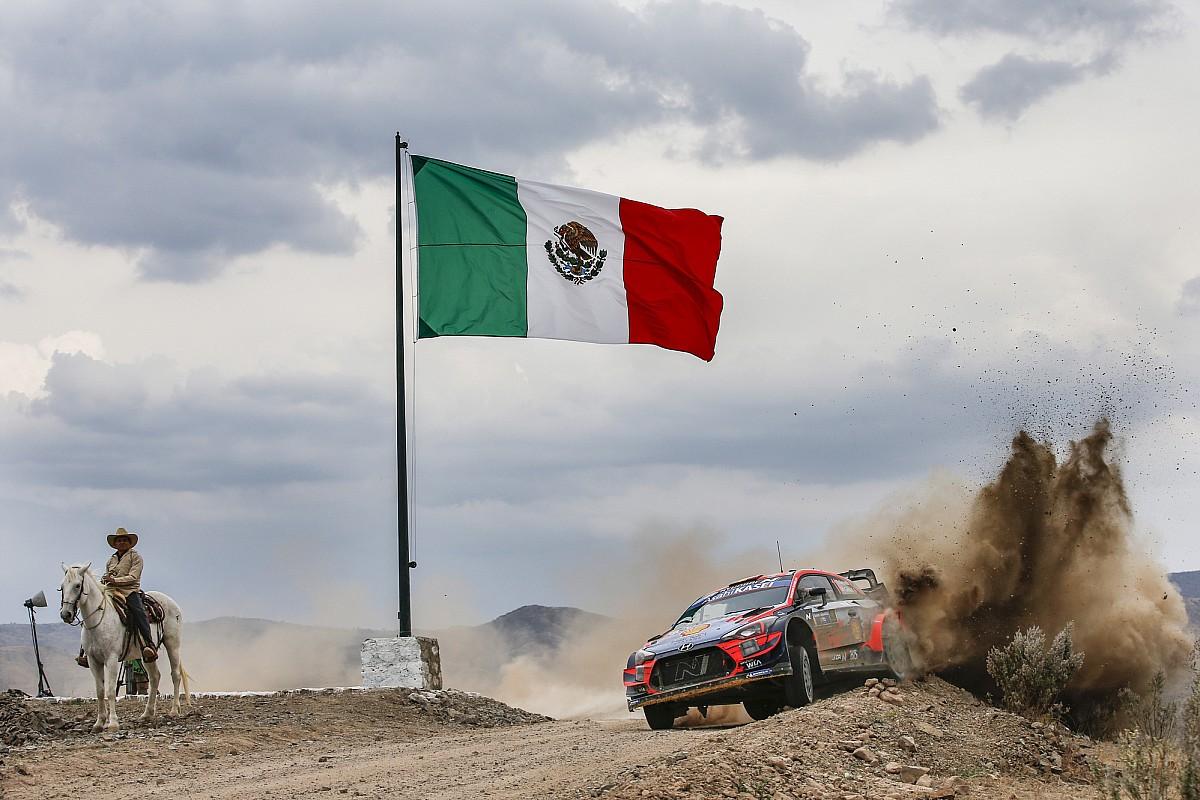 Periodista con coronavirus durante Rally México