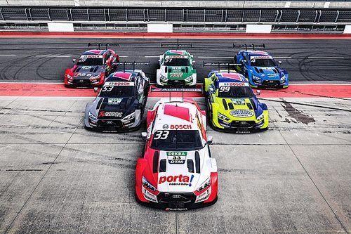 Audi reveals liveries for DTM title defence in 2020