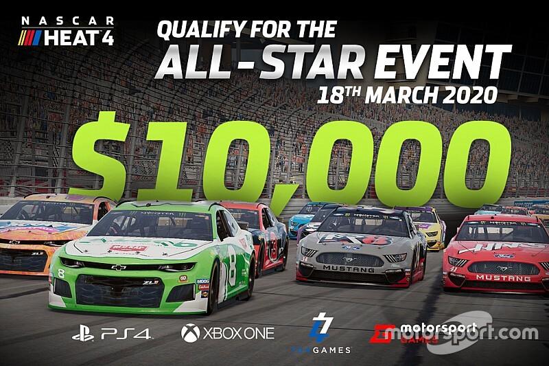 Приз за победу в виртуальной гонке NASCAR составит $10 000